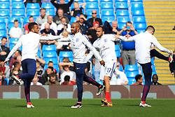 England's Fabian Delph warms up - Mandatory byline: Matt McNulty/JMP - 07966386802 - 22/05/2016 - FOOTBALL - Etihad Stadium -Manchester,England - England v Turkey - International Friendly