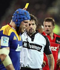 Christchurch-Rugby, Super 15, Crusaders v Highlanders