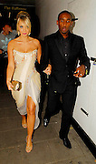 28.AUGUST.2007. LONDON<br /> <br /> JERMAINE DEFOE AND CHARLOTTE MEARS LEAVING THE DORCHESTER HOTEL FOR THE LONDON BLACK LEADERS DINNER IN AID OF NELSON MANDELA&rsquo;S VISIT.<br /> <br /> BYLINE: EDBIMAGEARCHIVE.CO.UK<br /> <br /> *THIS IMAGE IS STRICTLY FOR UK NEWSPAPERS AND MAGAZINES ONLY*<br /> *FOR WORLD WIDE SALES AND WEB USE PLEASE CONTACT EDBIMAGEARCHIVE - 0208 954 5968*
