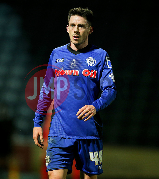 Rochdale's Ian Henderson - Photo mandatory by-line: Matt McNulty/JMP - Mobile: 07966 386802 - 21/04/2015 - SPORT - Football - Rochdale - Spotland Stadium - Rochdale v Leyton Orient - Sky Bet League One