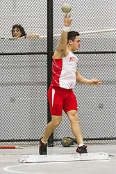 Boston University Multi-team indoor track & field, men shot put, BU