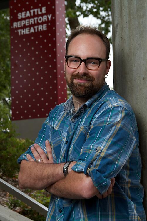 Seattle Reperatory Theatre Artistic Staff, June 2012.  William (L.B.) Morse, Associate Designer.
