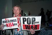 WIZARD, Closing party Mayor Gallery, Cork St. London. 17 December 2013