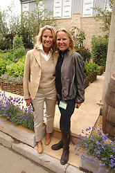 Left to right, LADY BAMFORD and her daughter ALICE BAMFORD    at the 2008 Chelsea Flower Show 19th May 2008.<br />
