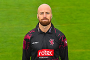 Head shot.  Jack Leach wearing the Somerset Royal London One-Day Cup kit at the media day at Somerset County Cricket Club at the Cooper Associates County Ground, Taunton, United Kingdom on 11 April 2018. Picture by Graham Hunt.