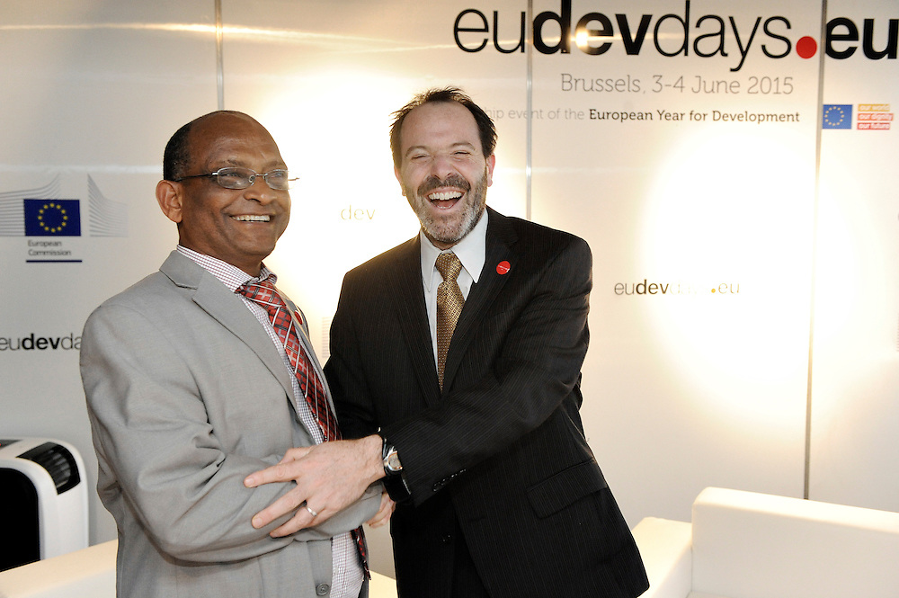 20150604- Brussels - Belgium - 04 June2015 - European Development Days - EDD  - <br /> Alex Thier Usaid and  Belete  Tafere Desta Minister Ethipia &copy; EU/UE