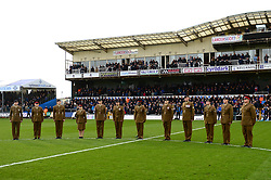 Bristol Rovers remembrance game - Mandatory by-line: Dougie Allward/JMP - 18/11/2017 - FOOTBALL - Memorial Stadium - Bristol, England - Bristol Rovers v AFC Wimbledon - Sky Bet League One