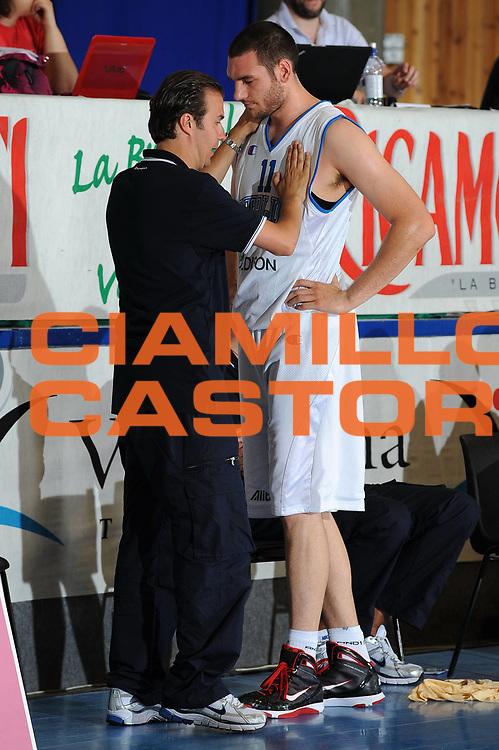 DESCRIZIONE : Bormio Torneo Internazionale Diego Gianatti Italia Iran<br /> GIOCATORE : Simone Pianigiani Andrea Crosariol<br /> SQUADRA : Nazionale Italia Uomini <br /> EVENTO : Torneo Internazionale Guido Gianatti<br /> GARA : Italia Iran<br /> DATA : 11/07/2010<br /> CATEGORIA : ritratto coach<br /> SPORT : Pallacanestro <br /> AUTORE : Agenzia Ciamillo-Castoria/GiulioCiamillo<br /> Galleria : Fip Nazionali 2010 <br /> Fotonotizia : Bormio Torneo Internazionale Diego Gianatti Italia Iran<br /> Predefinita :