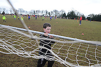 A helping hand at creggmore Football clubPhoto:Andrew Downes