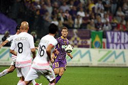 Dragan Jelic of Maribor during the UEFA Europa League play-offs second leg match between NK Maribor and US Citta di Palermo at Ljudski vrt Stadium on August 26, 2010 in Maribor, Slovenia. Maribor defeated Palermo 3-2 but Palermo won in total 5-3 and qualified for Europa league. (Photo by Marjan Kelner / Sportida)