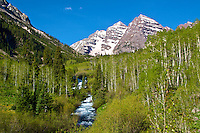 West Maroon Creek and Maroon Bells