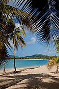 Sun Bay beach on the Caribbean Island of Vieques, Puerto Rico