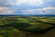 Nederland, Drenthe, Gemeente Coevorden, 30-06-2011; Bennevelder veld, ten oosten van Sleen.Agricultural area  in the North East of the Netherlands..luchtfoto (toeslag), aerial photo (additional fee required).copyright foto/photo Siebe Swart