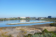 Upper Newport Bay Looking Towards Irvine