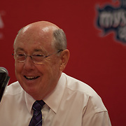 Washington Mystics Head Coach MIKE THIBAULT addressed the media after his Mystics defeated the Chicago Sky 82-78 Wednesday, July. 24, 2013 at The Verizon center in Washington DC.