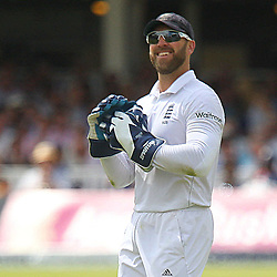 England's Matt Prior during the first day of the Investec 2nd Test match between England and India at Lords, London, 17th July 2014 © Phil Duncan | SportPix.org.uk