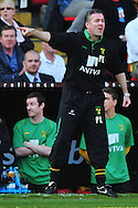 London - Saturday, April 17th 2010: Paul Lambert of Norwich City during the Coca Cola League One match at The Valley, Charlton...(Pic by Alex Broadway/Focus Images)