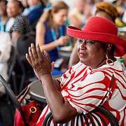 August 24, 2016, New Haven, Connecticut: <br /> Guests attend the Mayor's Women's Legislators Luncheon during Day 6 of the 2016 Connecticut Open at the Yale University Tennis Center on Wednesday, August  24, 2016 in New Haven, Connecticut. <br /> (Photo by Billie Weiss/Connecticut Open)