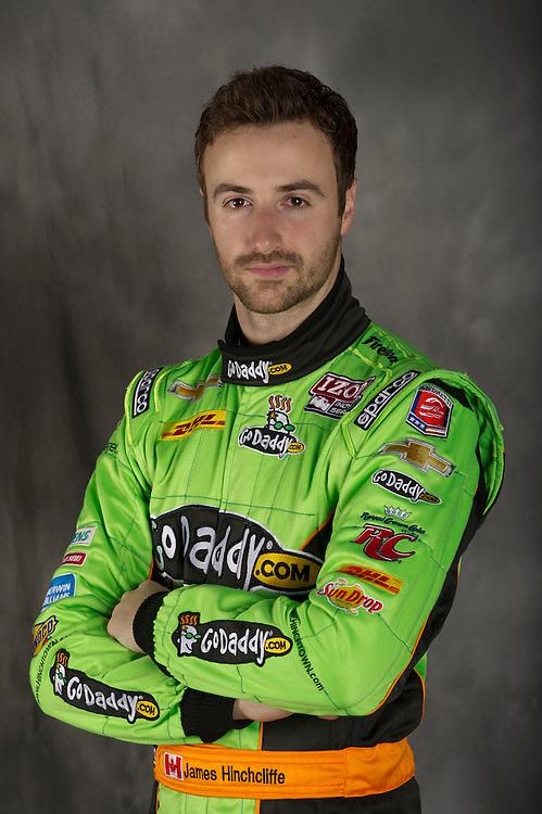 James Hinchcliffe, INDYCAR Spring Training, Sebring International Raceway, Sebring, FL 03/05/12-03/09/12