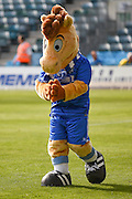 Tommy T the Gillingham mascot before the EFL Sky Bet League 1 match between Gillingham and Coventry City at the MEMS Priestfield Stadium, Gillingham, England on 24 September 2016. Photo by Martin Cole.
