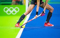 RIO DE JANEIRO  (Brazilië) -  Naomi van As (Ned)  tijdens  de poulewedstrijd hockey dames Nederland-China  , tijdens de Olympische Spelen. COPYRIGHT KOEN SUYK