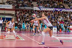 27-11-2016 ITA: Gorgonzola Igor Volley Novara - Nordmeccanica Modena, Novara<br /> Nova wint in drie sets van Modena / Yvon Belien #3