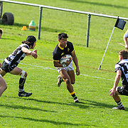 Rugby union game played between Wellington Under-19 v Hawkes Bay Under-19 , at  Jerry Collins Park,Porirua,Wellington, New Zealand, on 26 August 2017.   Game won 31-6 by Wellington