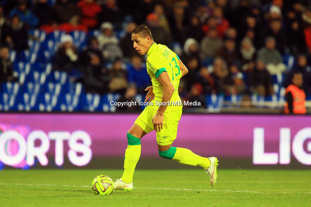 Yacine BAMMOU  - 24.01.2015 - Montpellier / Nantes  - 22eme journee de Ligue1<br />Photo : Nicolas Guyonnet / Icon Sport