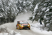 MOTORSPORT - WRC 2010 - RALLY SWEDEN - KARLSTAD (SWE) - 11 to 14/02/2010 - PHOTO : ALEXANDRE GUILLAUMOT / DPPI<br /> PETTER SOLBERG (NOR) / PHIL MILLS (GBR) - PETTER SOLBERG WRT - CITROEN C4 WRC - ACTION