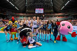17-05-2016 JAP: OKT Thailand - Nederland, Tokio<br /> Nederland verslaat Thailand met klinkende cijfers 3-0 en is weer op koers voor Rio / Vreugde bij Nederland