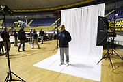 Emanuele Lele Molin<br /> Nazionale Italiana Maschile Senior - Backstage Shooting<br /> FIP 2017<br /> Torino, 20/11/2017<br /> Foto M. Brondi / Ciamillo-Castoria