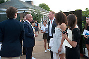 JOHAN ELIASH; BORIS BECKER; LILY BECKER, Chucs Dive & Mountain Shop charity Swim Party: Lido at The Serpentine. London. 4 July 2011. <br /> <br />  , -DO NOT ARCHIVE-© Copyright Photograph by Dafydd Jones. 248 Clapham Rd. London SW9 0PZ. Tel 0207 820 0771. www.dafjones.com.