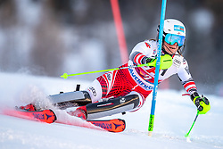 12.01.2020, Keelberloch Rennstrecke, Altenmark, AUT, FIS Weltcup Ski Alpin, Alpine Kombination, Slalom, Damen, im Bild Ricarda Haaser (AUT) // Ricarda Haaser of Austria during the women's Alpine combined Slalom competition for the FIS ski alpine world cup at the Keelberloch Rennstrecke in Altenmark, Austria on 2020/01/12. EXPA Pictures © 2020, PhotoCredit: EXPA/ Johann Groder