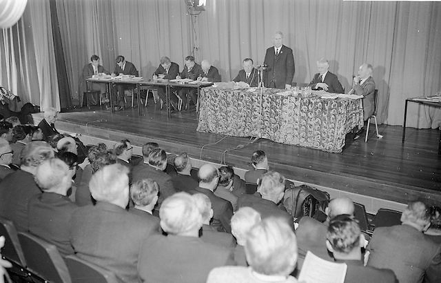 Mr Seamus Ryan, newly elected President of the GAA addressing the annual GAA Congress,26.3.1967. 26th March 1967