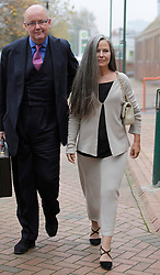 © Licensed to London News Pictures. 16/11/2012. Hammersmith, London, U.K..Koo Stark, ex-girlfriend of Prince Andrew, Duke of York, leaving  Hammersmith magistrates courts this morning (16/11/2012) after a hearing as she is accused of stealing a £50,000 painting from the house of Warren Walker, father of her 15 year old daughter Tatiana..Photo credit : Rich Bowen/LNP