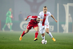 14.11.2014, Boris Paitschadse Nationalstadion, Tiflis, GEO, UEFA Euro Qualifikation, Georgien vs Polen, Gruppe D, im Bild KAMIL GROSICKI // during the UEFA EURO 2016 Qualifier group D match between Georgia and Poland at the Boris Paitschadse Nationalstadion in Tiflis, Georgia on 2014/11/14. EXPA Pictures &copy; 2014, PhotoCredit: EXPA/ Newspix/ Piotr Kucza<br /> <br /> *****ATTENTION - for AUT, SLO, CRO, SRB, BIH, MAZ, TUR, SUI, SWE only*****