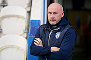 colchester United Head Coach John McGreal before the EFL Sky Bet League 2 match between Colchester United and Morecambe at the JobServe Community Stadium, Colchester, England on 29 December 2018.