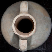 Top view of a Hellenistic Terracotta Amphora 4-3 century BCE