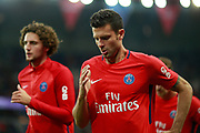 Paris Saint Germain's Italian midfielder Thiago Motta runs during the French championship L1 football match between Paris Saint-Germain (PSG) and Saint-Etienne (ASSE), on August 25, 2017 at the Parc des Princes in Paris, France - Photo Benjamin Cremel / ProSportsImages / DPPI