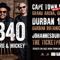 UB40 LIVE IN DURBAN SOUTH AFRICA 10 NOVEMBER 2016