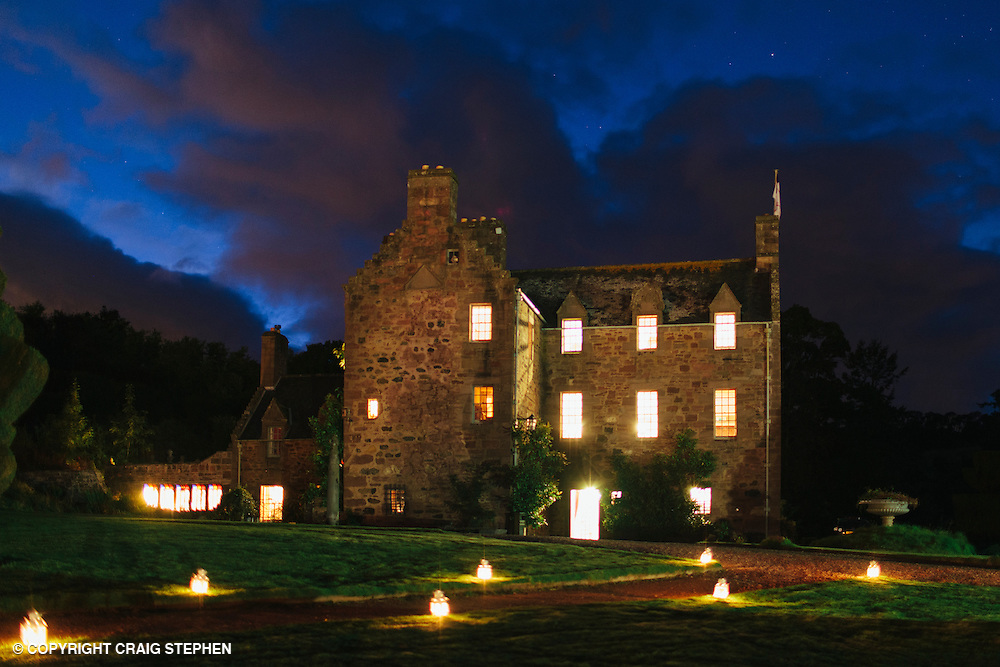 Fingask Castle Scotland film wedding photographer