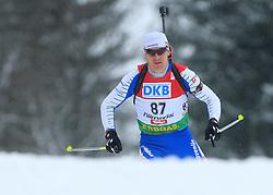 Slovenian athlete Janez Maric at Men 20 km Individual at E.ON Ruhrgas IBU World Cup Biathlon in Hochfilzen (replacement Pokljuka), on December 18, 2008, in Hochfilzen, Austria. (Photo by Vid Ponikvar / Sportida)