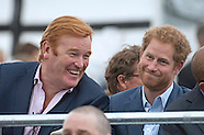 Prince Harry & Mark Dyer At Sentebale Concert