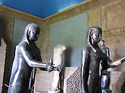 Italy, Rome, The Vatican Museum Egyptian statues