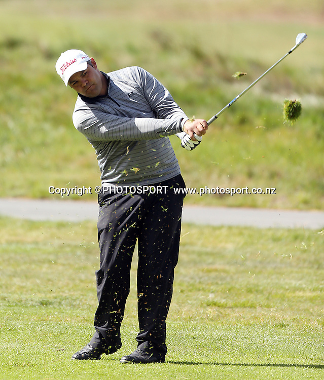 Jared Pender. The Charles Tour - John Jones Steel 2012 Harewood Open. Harewood Golf Course, Christchurch, Friday 19 October 2012. Photo : Joseph Johnson/photosport.co.nz