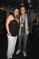FIFI TRIXIBELLE GELDOF and DUNCAN STIRLING at a party to celebrate the 1st birthday of nightclub Kitts, 7-12 Sloane Square, London on 5th March 2008.<br /><br />NON EXCLUSIVE - WORLD RIGHTS