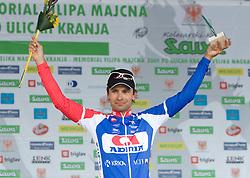Robert Vrecer of Adria Mobil placed second at 42nd Grand Prix Kranj - Filip Majcen Memorial 2009 cycling race (UCI Cat. 1.1), on May 30, 2009, in Kranj, Slovenia. . (Photo by Vid Ponikvar / Sportida)