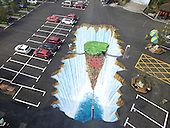 Giant 3D Painting