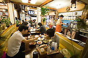 Insa-dong. The best mandus and pajong in town: Sadongmyeonok traditional Korean restaurant.