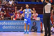 DESCRIZIONE : Milano Lega A 2014-15 EA7 Milano Banco di Sardegna Sassari<br /> GIOCATORE : Logan David<br /> CATEGORIA : espressioni Delusione Mani <br /> SQUADRA : Banco di Sardegna Sassari<br /> EVENTO : PlayOff semifinale Gara 2 Lega A 2014-2015 <br /> GARA : EA7 Milano Banco di Sardegna Sassari<br /> DATA : 31/05/2015<br /> SPORT : Pallacanestro<br /> AUTORE : Agenzia Ciamillo-Castoria/M.Ozbot<br /> Galleria : Lega Basket A 2014-2015 <br /> Fotonotizia: Milano Lega A 2014-15 EA7 Milano Banco di Sardegna Sassari